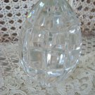 Wonderful Vintage Crystal Easter Egg Paperweight
