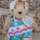 ADORABLE 1993 EASTER BEAR DRESSED IN EASTER EGG COSTUME **SO CUTE**