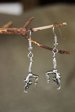 Gymnastics earrings  Only 2 pair! Hand made!