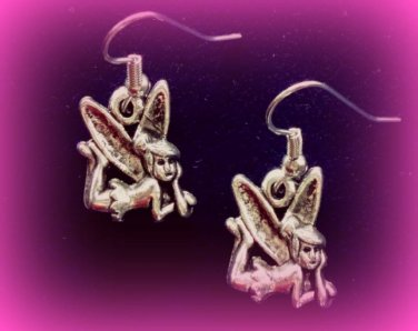 Tinkerbell fairy earrings
