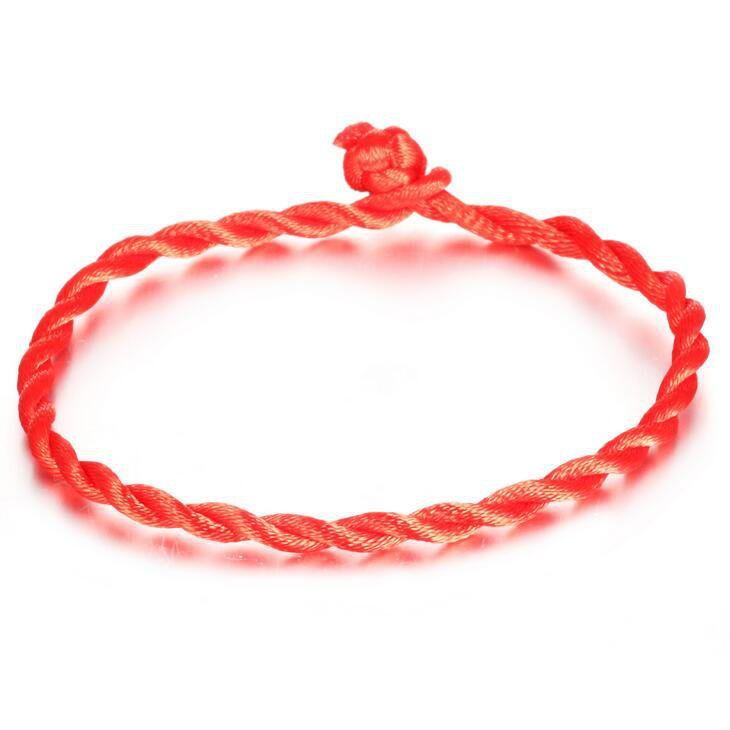 Jewelry accessories Good Luck Red string Lucky rope wedding hand-woven to ward off bad luck