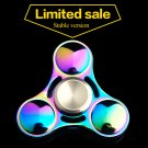 EDC Fidget Spinner UFO Tri-spinner Zinc Hand Spinner Aluminum Alloy Toy