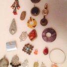 mixed lot pendants