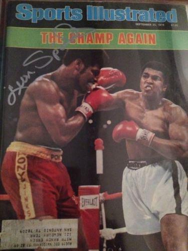 Sept 25 1978 issue of Sports illustrated Muhammad Ali v Leon Spinks