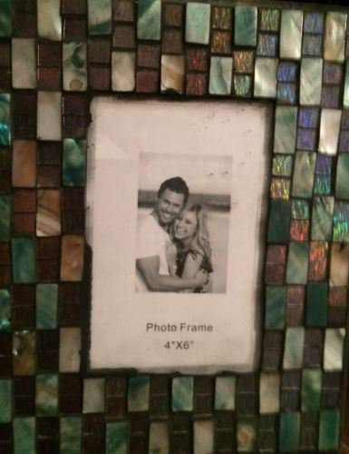 Picture Frame / Photo Frame 4 x 6 (Green)
