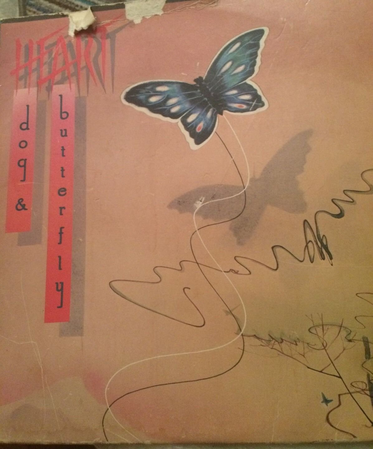 Heart Dog & Butterfly Vinyl LP