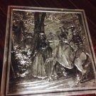 Vintage Colonial English Tin Box (5305/4)