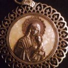 Mother of Pearl Virgin Mary          From Jerusalem