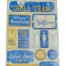 Karen Foster Design Scrapbook Cardstock Stickers Drill Team #11591