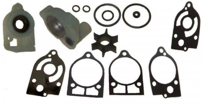 Water Pump Kit for some Mercury Outboards 40-70 HP replaces part number 46-73640A 2 (TM3323)
