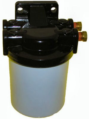 """Fuel Water Separator Kit with Filter Head 1/4"""" NPT Ports (TM7775)"""