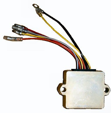 Regulator Rectifier for Mercury Outboards late model - 6 Wire (TM5715)
