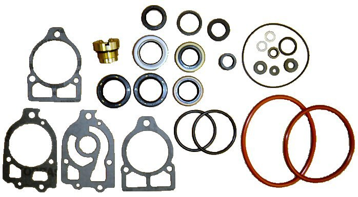 Complete Lower Unit Seal Kit Mercury Mariner fits some 75HP to V225 (TM2653)
