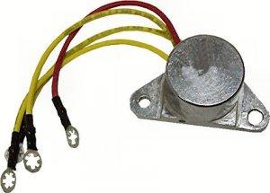 Marine Alternator Rectifier for Johnson Evinrude 4-Wire (TM5709)