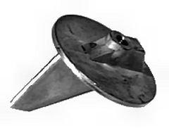 Zinc Anode - Trim Tab for Mercruiser, Mercury, Mariner and Honda (TM6011)