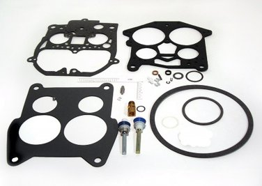 Carburetor Kit Rochester 4 BBL Quadrajet  for Mercruiser, OMC, Volvo and Crusader (TM7095)