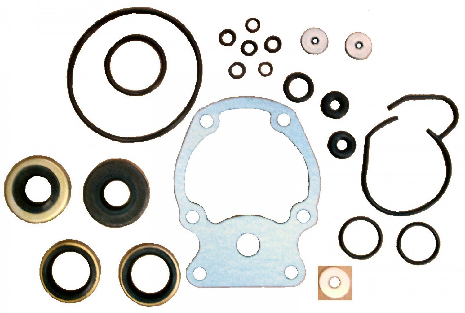 Lower Gear Case Seal Kit for Johnson Evinrude 20-35 HP (TM2658)