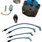 Marine Tune Up Kit with Plug Wires for Some 4 Cyl In-line Single Point GM Mercruiser (TM5268-8800)