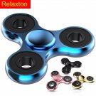 NEW Metal Hand Spinner Tri-Spinner EDC Fidget Toy For Autism and ADHD Anti Stres