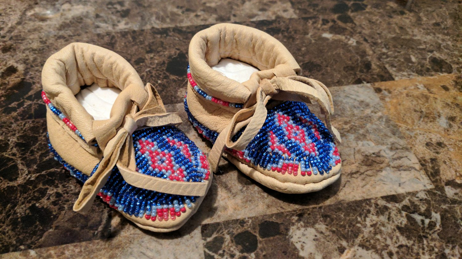 Baby moccassins