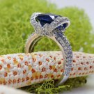 Gorgeous Italian Zircon ring. Beatifull style ring.