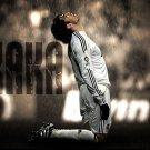 KaKa Football Star Art 32x24 Poster Decor