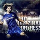 David Luiz Football Star Art 32x24 Poster Decor