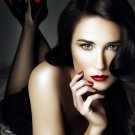 Demi Moore Actor Star Art 32x24 Poster Decor