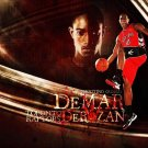 DeMar DeRozan Basketball Star Art 32x24 Poster Decor