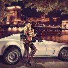 Miss Tuning Car Art 32x24 Poster Decor