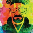 Walter White Watercolor Art 32x24 Poster Decor