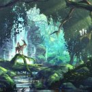 Princess Mononoke Anime Flim Art 32x24 Poster Decor