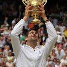 Novak Djokovic Tennis Star Art 32x24 Poster Decor