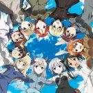 Strike Witches Japanese Manga Art 32x24 Poster Decor