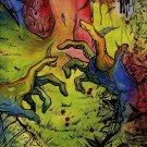 Psychedelic Trippy Art Art 32x24 Poster Decor