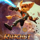 Ratchet And Clank Art 32x24 Poster Decor