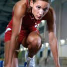 Lolo Jones Field Athlete Art 32x24 Poster Decor
