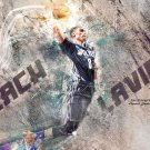 Zach LaVine Basketball Star Art 32x24 Poster Decor