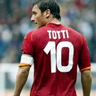 Francesco Totti Football Star Art 32x24 Poster Decor