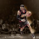 Allen Iverson Basketball Star Art 32x24 Poster Decor
