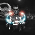 Buffon Goalkeeper Football Star Art 32x24 Poster Decor