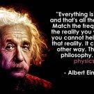 Albert Einstein Quote Motivation Art 32x24 Poster Decor