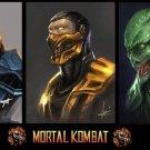 Mortal Kombat Game Art 32x24 Poster Decor