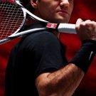 Roger Federer Tennis Players Art 32x24 Poster Decor