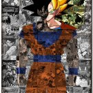 Goku Dragon Ball Anime Art 32x24 Poster Decor