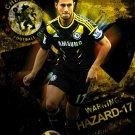Eden Hazard Football Soccer Star Art 32x24 Poster Decor