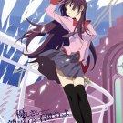 Bakemonogatari Senjougahara Hitagi Art 32x24 Poster Decor
