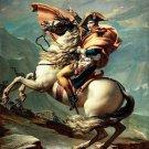 Napoleon Crossing The Alps Art 32x24 Poster Decor