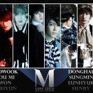 Super Junior M K Pop Art 32x24 Poster Decor