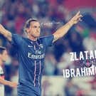 Zlatan Ibrahimovic Football Star Art 32x24 Poster Decor